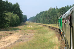 Mening van de trein stock afbeeldingen
