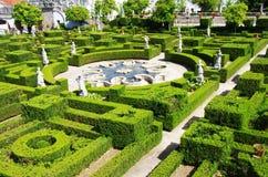 Mening van de tuin van Castelo Branco Royalty-vrije Stock Afbeelding