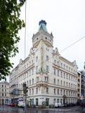 Mening van de typische bouw in Wenen Stock Foto's