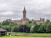 Mening van de Universiteit van Glasgow Royalty-vrije Stock Afbeeldingen