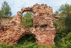 Mening van de vernietigde bouw Stock Fotografie