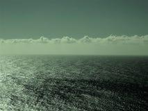 Mening van de Vreedzame Oceaan ergens langs Weg 1 royalty-vrije stock afbeelding