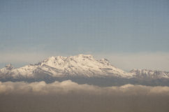 Mening van de Vulkaan Iztaccihuatl, Mexico Royalty-vrije Stock Fotografie