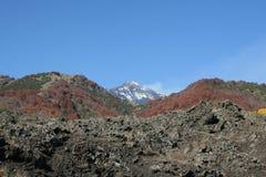 Mening van de Vulkaan van Etna Stock Foto's