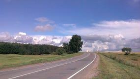 Mening van de weg Stock Afbeeldingen