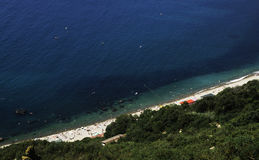 Mening van de Zwarte Zee Stock Foto's
