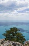 Mening van de Zwarte Zee. Stock Fotografie