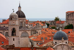 Mening van Dubrovnik Royalty-vrije Stock Afbeeldingen