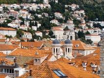 Mening van Dubrovnik Royalty-vrije Stock Fotografie