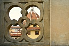 Mening van Duomo Royalty-vrije Stock Fotografie