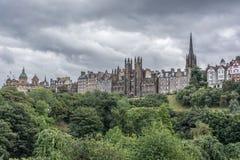 Mening van Edinburgh! Royalty-vrije Stock Foto's
