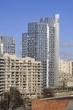 Mening van een district van Boulogne Billancourt stock foto's