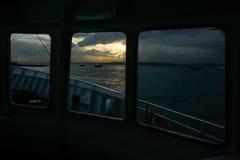 Mening van een veerboot Royalty-vrije Stock Afbeeldingen