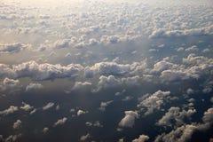 Mening van een vliegtuig Stock Foto's