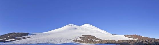 Mening van Elbrus Royalty-vrije Stock Afbeeldingen
