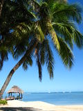 Mening van exotische lagune Royalty-vrije Stock Afbeeldingen