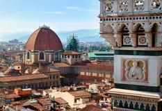 Mening van Florence royalty-vrije stock afbeelding