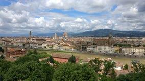Mening van Florence stock afbeelding