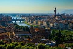 Mening van Florence royalty-vrije stock afbeeldingen