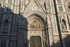 Mening van Florence Cathedral royalty-vrije stock foto