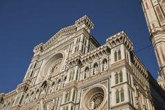 Mening van Florence Cathedral royalty-vrije stock afbeeldingen