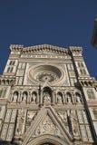 Mening van Florence Cathedral stock afbeeldingen