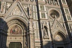Mening van Florence Cathedral stock foto