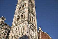 Mening van Florence Cathedral royalty-vrije stock afbeelding