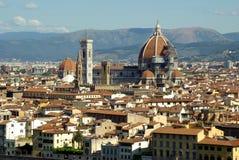 Mening van Florence, Italië Royalty-vrije Stock Foto