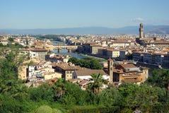 Mening van Florence, Italië Royalty-vrije Stock Afbeeldingen