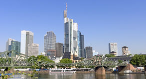 Mening van Frankfurt-am-Main, Duitsland Royalty-vrije Stock Foto