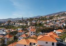 Mening van Funchal Stock Foto's