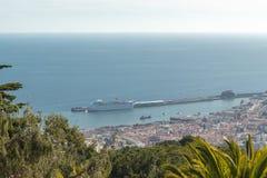 Mening van Funchal Royalty-vrije Stock Foto's