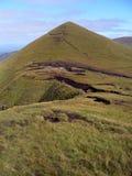 Mening van Galtee Beag, Galtee bergen, Ierland Royalty-vrije Stock Afbeeldingen