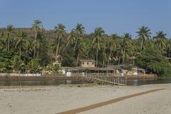 Het strand van Mandrem Royalty-vrije Stock Fotografie
