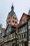 Mening van Gelnhausen, Duitsland royalty-vrije stock foto's