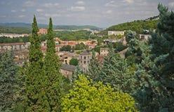 Mening van Girona Royalty-vrije Stock Afbeeldingen