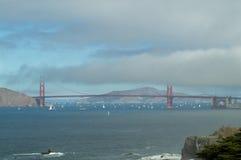 Mening van Golden gate bridge, San Francisco Royalty-vrije Stock Afbeelding