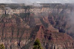Mening van Grand Canyon stock fotografie