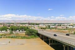 Mening van Grand Junction stock fotografie