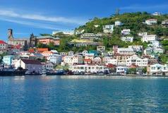 Mening van Grenada Royalty-vrije Stock Afbeelding