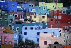 Mening van Guanajuato, Mexico Stock Afbeeldingen