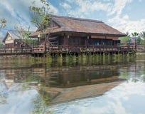 Mening van Gubei-waterstad in Peking, China Royalty-vrije Stock Afbeelding