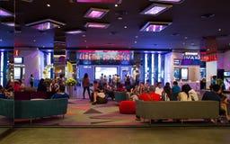 Mening van Hatyai Cineplex Royalty-vrije Stock Afbeeldingen