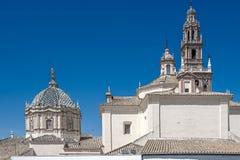 Mening van Heilige Peter Church Carmona Andalucia spanje Royalty-vrije Stock Foto