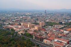 Mening van het centrum van Mexico-City Stock Foto's