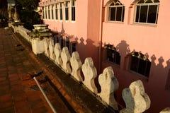 Mening van het dak van het Chepauk-paleis Royalty-vrije Stock Fotografie