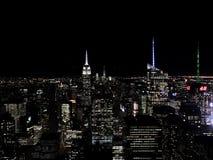 Mening van het dak van het Rockefeller-Centrum Royalty-vrije Stock Foto's