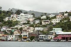 Mening van het eiland Grenada, St Caraïbisch George, stock afbeeldingen