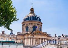 Mening van het Franse Instituut Academie Francaise stock afbeeldingen